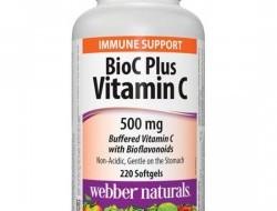 BioC Plus Vitamin C 500 mg Webber Naturals