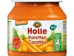 HOLLE detská výživa mrkva (od ukončeného 4 mesiaca)