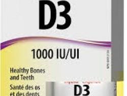 D3 vitamín 1000 IU kvapky Webber Naturals