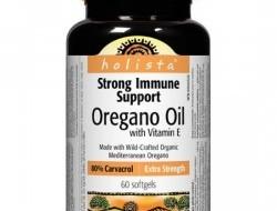 Oregano oil + Vitamin E 80 % Holista Webber Naturals