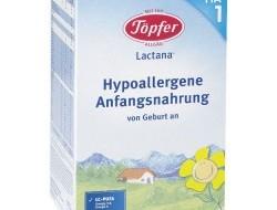 Topfer Lactana HA 1 (hypoalergénna dojčenská výživa) od narodenia