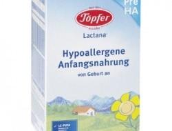 Topfer Lactana Pre HA (Hypoalergénna výživa od narodenia)