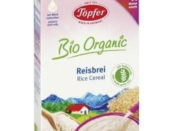 TÖPFER bio celozrnná ryžová kaša (od 4. mesiaca)