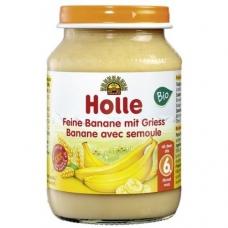 HOLLE detská výživa krupica, banán (od 6 mesiaca)