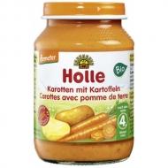 HOLLE detská výživa mrkva, zemiak (od ukončeného 4 mesiaca)