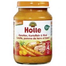 HOLLE detská výživa mrkva, zemiaky, hovädzie (od ukončeného 4 mesiaca)