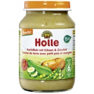 HOLLE detská výživa zemiak, hrášok, cuketa (od ukončeného 6 mesiaca)