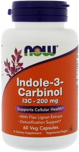 Indole-3-Carbinol 200 mg Now Foods