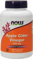 Apple Cider Vinegar 450 mg Now Foods