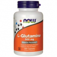 L-Glutamine 500 mg Now Foods