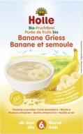 HOLLE celozrnná krupicová kaša s banánom (od ukončeného 6 mesiaca)