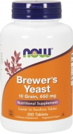 Brewer´s Yeast 650 mg Now Foods