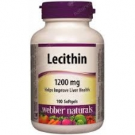 Lecitín 1200 mg Webber Naturals