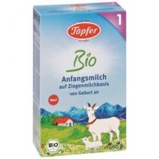 Topfer kozie mlieko 1 (dojčenská výživa od narodenia)