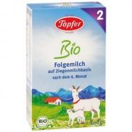 Topfer bio kozie mlieko 2 (od ukončeného 6. mesiaca)