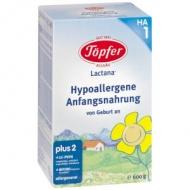 Lactana HA 1 (Hypoalergénna počiatočná dojčenská výživa, pre dojčatá od narodenia) Topfer