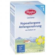 Topfer Lactana HA 1 (Hypoalergénna výživa od narodenia)