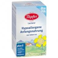 Lactana Pre HA (Hypoalergénna počiatočná dojčenská výživa, pre dojčatá od narodenia) Topfer