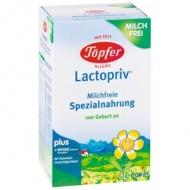 Lactopriv (Špeciálna dietetická potravina bez mlieka pre dojčatá od narodenia) Topfer