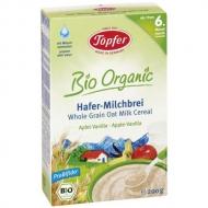 Topfer celozrnná ovsená kaša s jablkom a vanilkou od 6. mesiaca