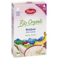 Detská BIO ryžová kaša s banánom od 4. mesiaca Topfer