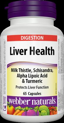 Liver Health Webber Naturals